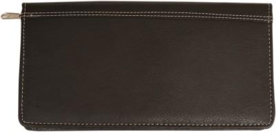 Attache Leatherite Travel Passport Case / Card Holder /Cheque Book Holder / Document & Ticket Wallet /Currency Wallet Purse -(BLACK)