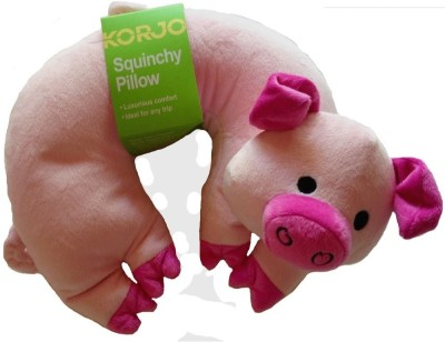 Korjo SQ KP KIDS SQUINCHY PILLOW PIG