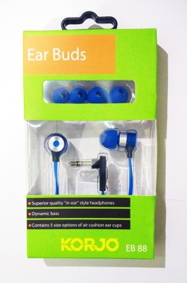 Korjo EB 88 EAR BUDS - BLUE