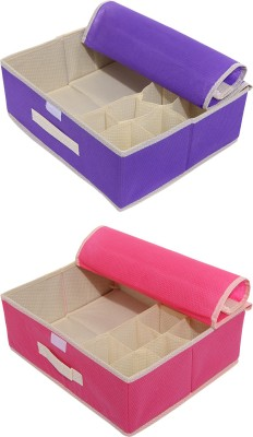Verve Lingerie Storage Case(Bra and Panty, Pack of 2)