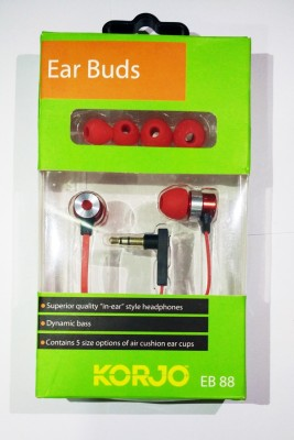 Korjo EB 88 EAR BUDS - RED