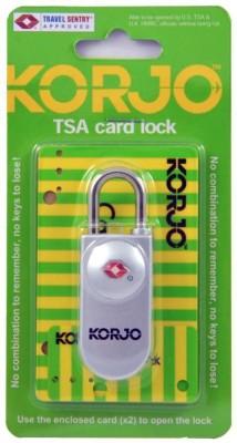 Korjo TSACL TSA CARD LOCK SILVER