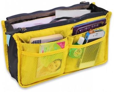 Packnbuy Multipurpose Hand Bag Organizer Yellow Color