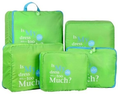 Magnusdeal Sets Travel in Organizer Set of 5 Bags