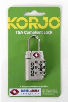 Korjo TSA72 TSA INDICATOR LOCK SILVER