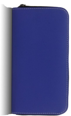 Bleu Ladies Clutch Purse - Blue 603