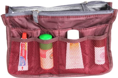 PRETTY KRAFTS Magenta Color Metty Travel Accessories Bag
