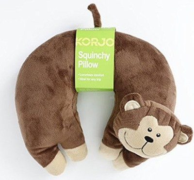 Korjo SQ KM KIDS SQUINCHY PILLOW MONKEY