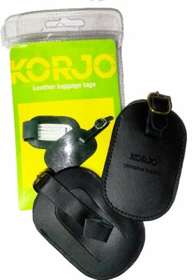Korjo LT 35 LEATHER LUGGAGE TAGS