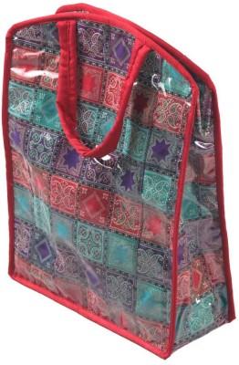 Srajanaa Multicolour Zipped Tiffin and Bottle Bag