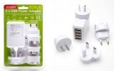 Korjo USB 04 4 USB CHARGER (White)