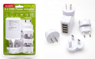 Korjo USB 04 4 USB CHARGER
