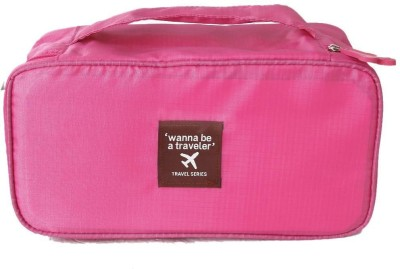 Home Union Travel Underwear Lingerie Organizer - Pink