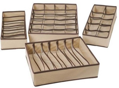 Everyday Desire Set of 4 Foldable Drawer Dividers, Storage Boxes