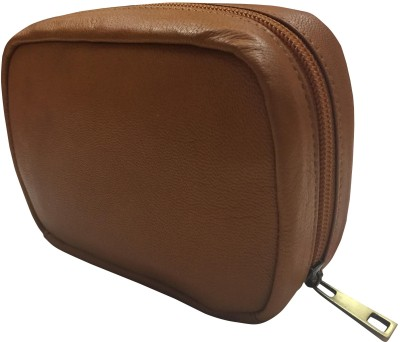 Ess Tee Genuine Leather Mini Make up Bag