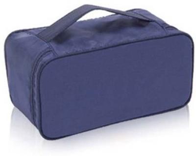 Everyday Desire Undergarments and innerwear Storage Bag Travel Organiser Multi Purpose - Navy Blue