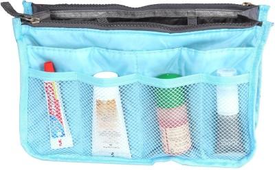 PRETTY KRAFTS Blue Color Metty Travel Accessories Bag