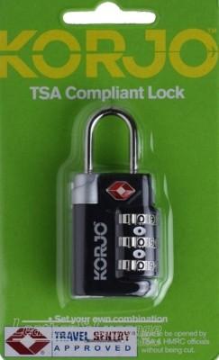 Korjo TSA71 TSA COMPLIANT LOCK BLACK