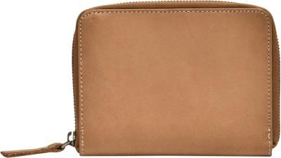 Dunez Single Zip Around Leather Wallet