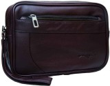 YORSALE Passport Pouch (Brown)