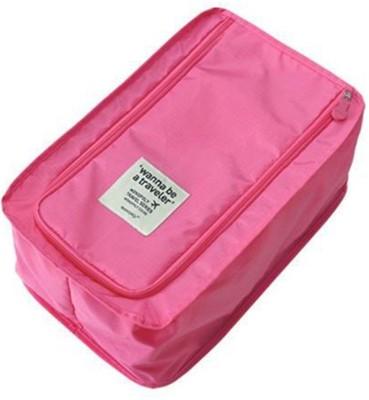 Home Union Waterproof Travel shoe bag - Pink
