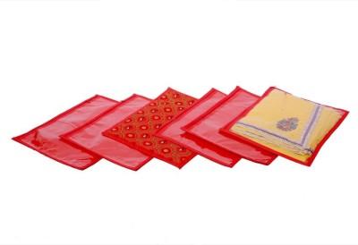 Kuber Industries Single Packing Bandhani Saree Cover Set of 6 Pcs