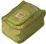 Silk Route Shoe Pouch (Green)