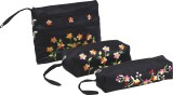 Asian Artisans Cosmetic Pouch (Black)