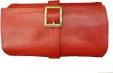 Leather Mall Cosmetic Pouch (Red)