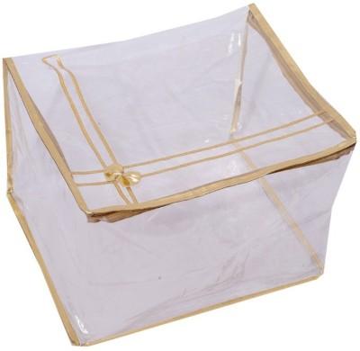 Kuber Industries Transparent Saree Cover (Extra Large Size)