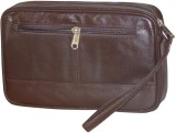 Kan Cosmetic Pouch (Brown)