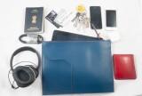 Harp Passport Pouch (Blue)