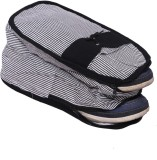 Kuber Industries Shoe Pouch (Black)