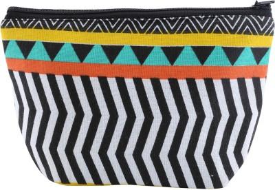 Iris Zigzag Pattern Print