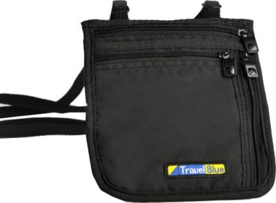 Travel Blue Ultra Slim Neck Carrier(Black)