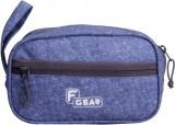 F Gear Cosmetic Pouch (Blue)