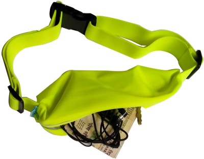 Saco Waterproof Exercise Runners Belt with Expandable Single Storage Pocket