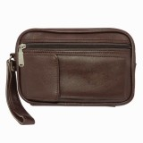 Chimera Leather Passport Pouch (Brown)