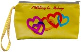 Color Plus Cosmetic Pouch (Yellow, Red)