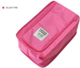 Silk Route Shoe Pouch (Pink)