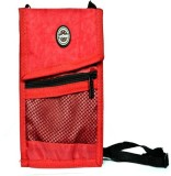 Pack My Bag Neck Pouch (Red)