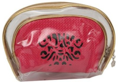 Kuero Pink cosmetic Pouch