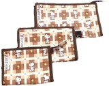 Navigator Cosmetic Pouch (Brown)