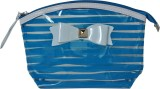 Priya Exports Cosmetic Pouch (Blue)