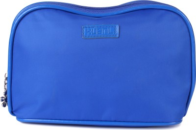Uberlyfe Bright Blue Rounded Multipurpose Pouch or Purse for Women