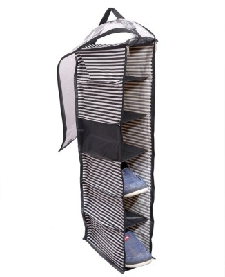 Kuber Industries Hanging Shoe Cover, Shoe Kit (Rexine Material)