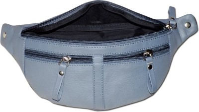 Kan Genuine Leather Travel Waist Pouch For Men and Women