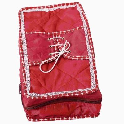 Indi Bargain Maroon shoe cover