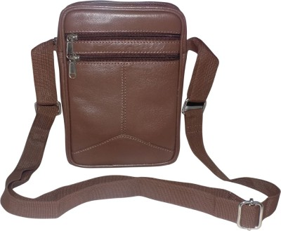 Style 98 Star Series Sling Bag(Brown, 7 inch)