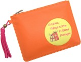 Thathing Cosmetic Pouch (Orange, Pink, M...